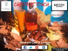 Esta noche ven a probar nuestro cocktail Chestnut touch candidato a la final regional #WorldClass15 Maremoto Café & Cocktail be @Chusbartender