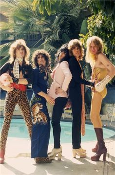 New York Dolls in Hollywood, 1973, by Bob Gruen