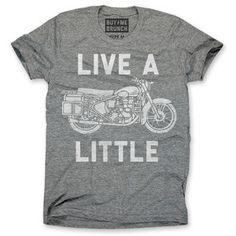 Live a Little Tee Men's