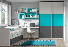 Boys Room Design, Bedroom Cupboard Designs, Wardrobe Design Bedroom, Bedroom Closet Design, Small Bedroom Designs, Small Room Design, Small Room Bedroom, Study Room Design, Home And Deco