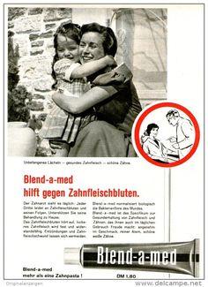 Original-Werbung/Inserat/ Anzeige 1960 - BLEND-A-MED - ca. 250 x 170 mm