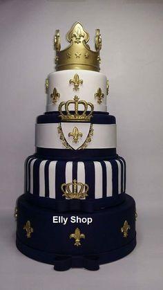Pretty Cakes, Cute Cakes, Beautiful Cakes, Prince Cake, Prince Party, Cakes For Women, Cakes For Boys, Amazing Wedding Cakes, Amazing Cakes