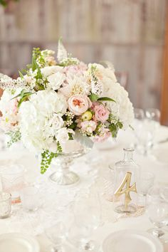 Malibu Vintage Wedding Photography - Glass Jar Photography - Wedding table ideas