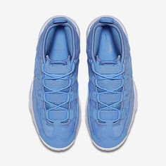 get cheap a46e5 308e8 Chaussure Nike Air Max Uptempo 95 Pas Cher Homme Qs Bleu Universite Blanc  Bleu Universite