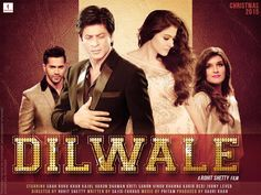 Diwale 2016 is upcoming movie of Shahrukh Khan and Kajol. It is a romantic movie which shows Shahrukh has a brother of Varun Dhawan.