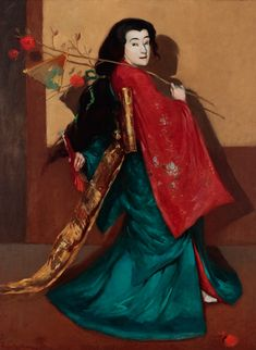 Eastern Impressions: Western Printmakers and the Orient: Sadayakko Through Artists' Eyes - Part The Second World Tour Eye Parts, Bunny Painting, Australian Painting, Etching Prints, Bunny Art, Japanese Geisha, Second World, Portraits, Silent Film