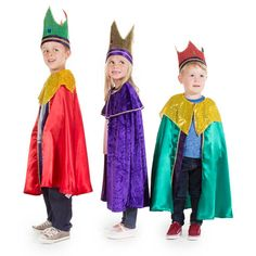 Children's King Nativity Costumes – Time to Dress Up