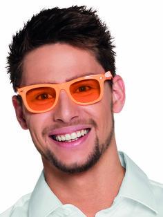 e774ecf20395ec Lunettes orange fluo 80 s adulte   Deguise-toi, achat de Accessoires