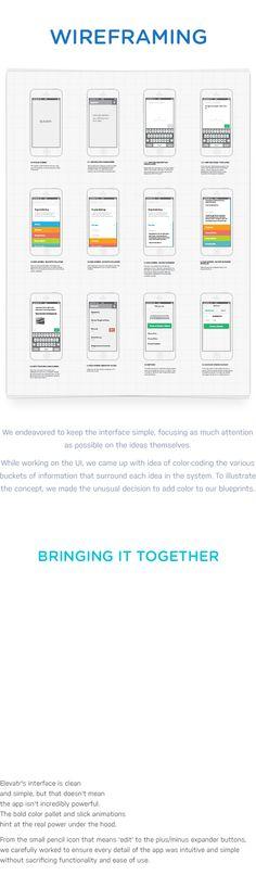 Elevatr on Behance #UI #UX