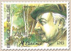 Belgian Stamps Belgian VIPs  Maurice Carème