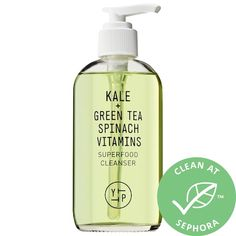 Shop Youth to the People's Superfood Antioxidant Cleanser at Sephora. It's a daily green juice cleanse for your face with cold-pressed antioxidants. Oily Skin Care, Skin Care Tips, Face Skin Care, Superfood, Green Juice Cleanse, Natural Exfoliant, Natural Face Cleanser, Moisturizer For Oily Skin, Beauty