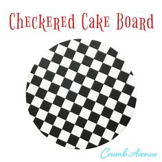 Crumb Avenue - Easy to follow cake topper tutorials | Tutorials | Checkered Cake Board Fondant Cake Tutorial, Fondant Tips, Cake Topper Tutorial, Cake Toppers, Fondant Recipes, Cake Recipes, Cake Decorating Techniques, Cake Decorating Tutorials, Cars Theme Cake