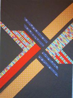 Color Me Quilty: Quilt Top Finish: MQG Michael Miller Challenge