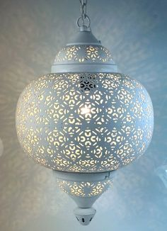 Orientalische indische silber leuchte deckenleuchten h ngelampen lampen leuchten lampen for Marokkanische tischlampe