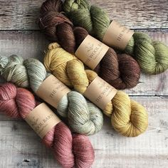Lovey hues from @thewoolbarn