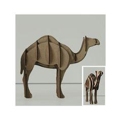 puzzle 3d animali
