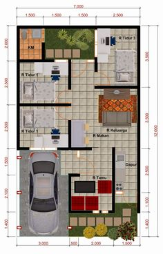 Best apartment furniture layout floor plans dream homes ideas Small House Layout, House Layout Plans, Small House Design, House Layouts, Small House Floor Plans, Modern House Plans, Casa Loft, Loft House, Indian House Plans