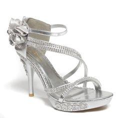 Glamorous Womens DIAMOND5 Open Toe Rhinesone Ankle Strap Strappy Flower Diamond Platform High Heel stiletto Sandal Shoes, Silver PU Leather, 5.5 B (M) US V-Luxury http://www.amazon.com/dp/B00HV7FRQ2/ref=cm_sw_r_pi_dp_MbI7tb0F6Y8C4