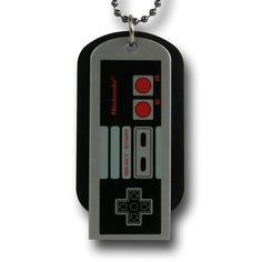 NES Controller Dog Tags $9.99