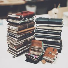Koi Pond (A closer look, 32 traveler's notebook from Korean...)