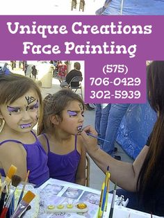 Halloween vampires face painting