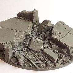 Unreal Wargaming Studios Ltd is a manufacturer of resin miniatures and accessories. Miniature Bases, Polyurethane Resin, Diorama Ideas, Tower Design, Space Wolves, Stone Texture, Game Assets, Warhammer 40000, Model Building