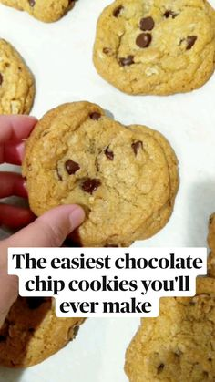 Easy Baking Recipes, Easy Cookie Recipes, Dessert Recipes, Oatmeal Recipes, Homemade Cookie Recipe, Vegan Cookie Recipe, Easy Kids Recipes, Simple Cookie Recipe, Delicious Cookie Recipes