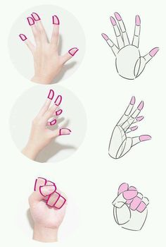 Hand drawing refrence