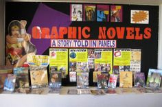 great graphic novel displays