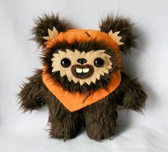 Wicket the Ewok plush by Deadly Sweet