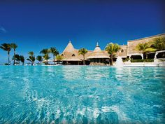 LUX* Belle Mare swimming pool