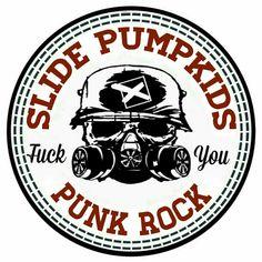 Slide Pumpkids new logo skate park. Punk rock #slidepumpkids #punkrock