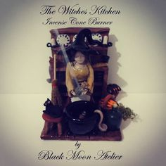 The Witches Kitchen Incense Cone Burner