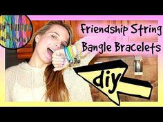 ▶ DIY Bangle Bracelets | Friendship String Bracelets