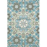 Found it at Wayfair - Tristan Aqua Area Rug