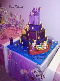 "Photo 1 of 43: tangled rapunzel enredados princes / Birthday ""tangled rapunzel enredados princess"" 