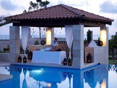 Anazoe spa highlight. Costa Navarino, Greece.