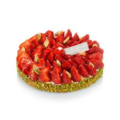 Tarte pistaches & fruits rouges