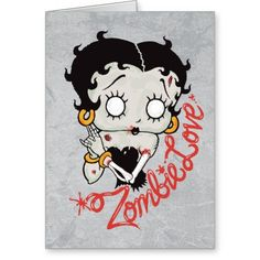 Zombie Love Betty Boop Body and Head