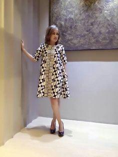 Batik Parang dress