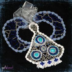 Decoratiune unicat cu pietre semipretioase. Crochet Earrings, Jewelry, Fashion, Moda, Jewlery, Jewerly, Fashion Styles, Schmuck, Jewels