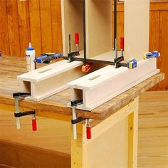 You'll wonder how you ever assembled a project without these simple, versatile shop aids. #WoodworkingBench
