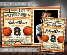 basketball invitation basketball birthday invitation basketball invite basketball birthday party invitation black - Basketball Party Invitations