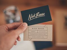 Designers' Pick: Favorite Business Card Designs and Tips Like this.