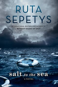Historical Fiction Salt to the Sea by Ruta Sepetys. Fiction on the sinking of the Wilhelm Gustloff, which killed more people than Titanic or Lusitania. Ya Books, Good Books, Books To Read, Reading Books, Reading Library, Library Books, Reading Lists, Wilhelm Gustloff, Historical Fiction Books