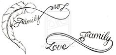 love family infinity