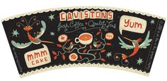 Illustrated Coffee Cup Design on Behance