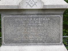 Nutfield Genealogy: Tombstone Tuesday ~ William R. Eastman (1833 - 1916) and his wives, Hooksett, New Hampshire #genealogy