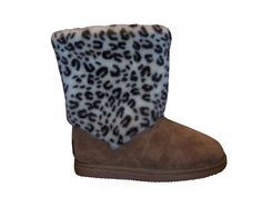 Snooki Signature Leopard Sheepskin Boots I want these!!!