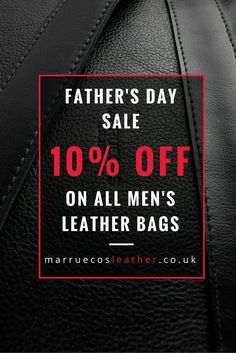 Fathers Day is just around the corner: get off our men's leather bags plus free UK shipping! Fathers Day Sale, Men's Leather, Free Uk, Men's Collection, Summer 2016, Corner, Spring, Leather Men